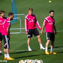 Real Madrid Training Session ahead of Rayo in Liga