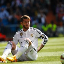 Real Madrid vs Eibar in the Santiago Bernabeu