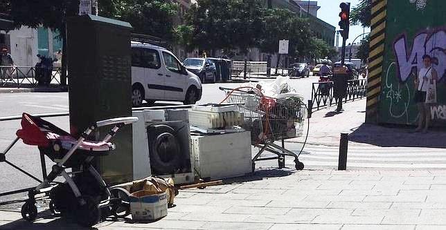 Chatarra calle