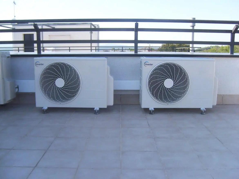 aire acondicionado cubierta