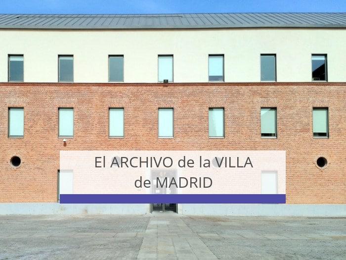 archivo de la villa de Madrid