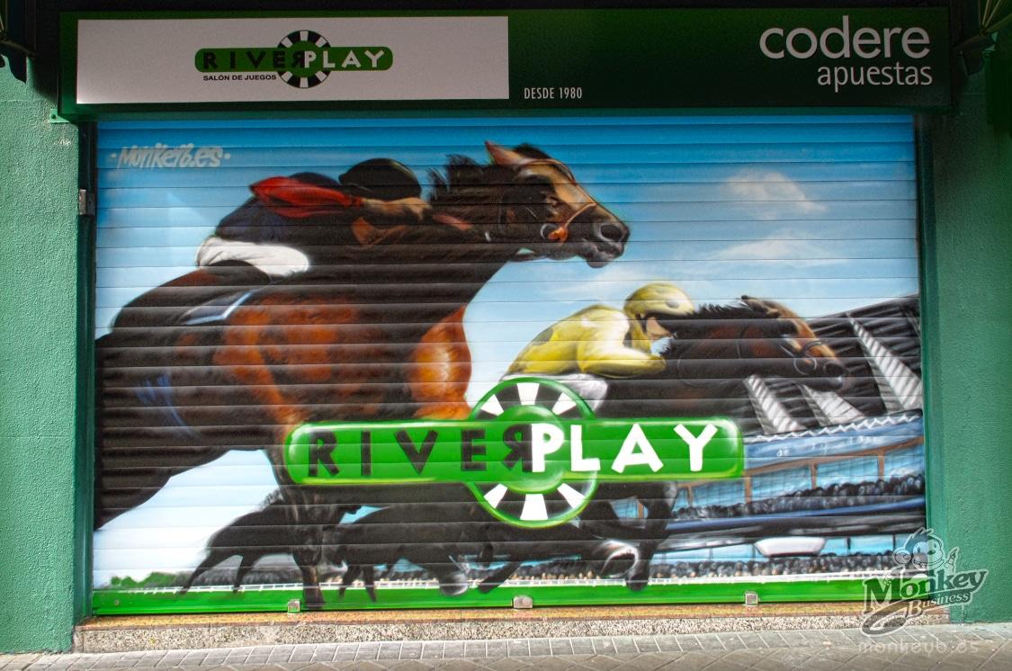 grafiti cierre local apuestas
