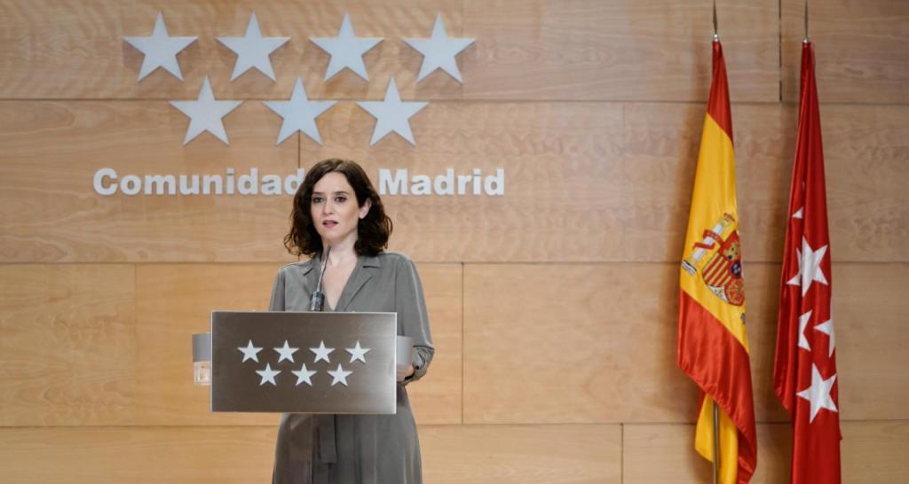 isabel diaz ayuso Comunidad de Madrid 1024x546