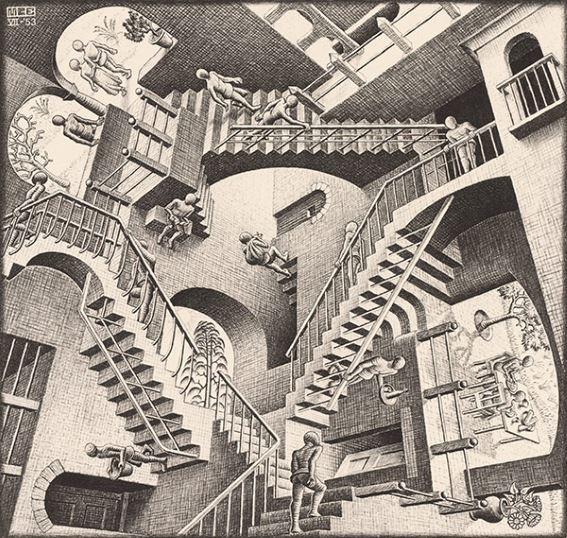 MC-Escher-Relativity