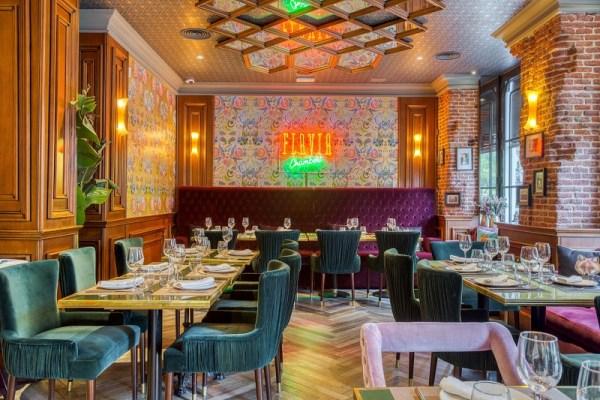 diez restaurantes cenas grupos madrid