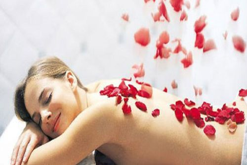 ritual corporal rosas y lavanda