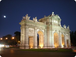 Alcal 225 Gate Madrid Tourist Attractions