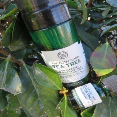Limpiadora y aceite de Árbol de Té de The Body Shop
