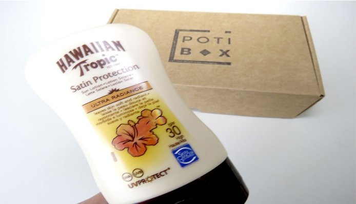 potibox verano hawaiian tropic natura siberica some sweet cosmetics the ordinary skin thinks 4