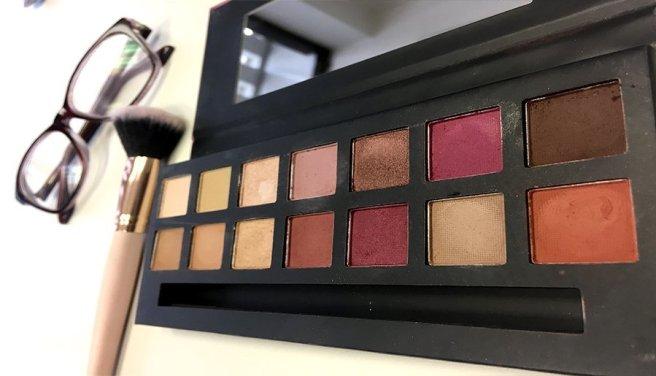 delicious w7 modern renaissance abh look makeup colores paleta pigmentacion