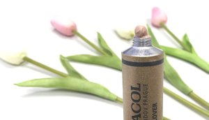 Dermacol review honesta maquillaje alta cobertura swatch 4