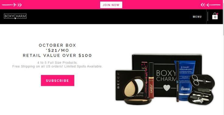 boxycharm como comprar desde españa en español my mall box beauty box