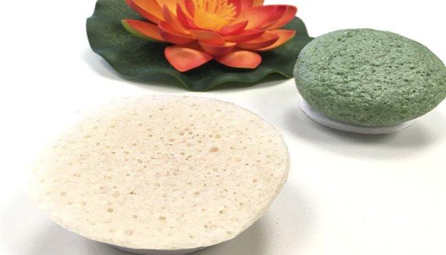 esponja konjac limpieza facial beauty challenge esponja konjac blanca esponja konjac verde 9