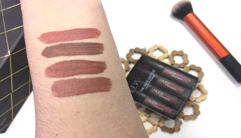 huda beauty lipstick labiales review opiniones bombshell flirt trendsetter venus labial liquido