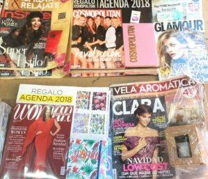 regalos revistas diciembre 2017 clara woman glamour cosmopolitan