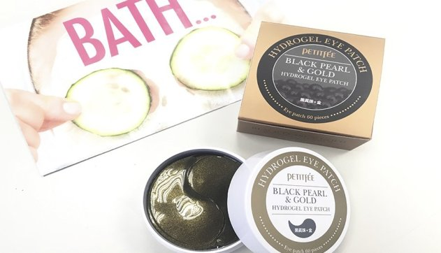 iherb compras haul petitfee black pearl and gold parches ojos