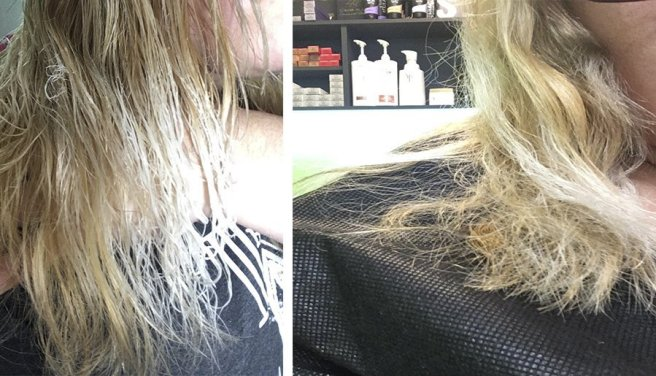 pelo quemado decoloracion decolorar cabello quemaron mi pelo en la peluqueria mechas californianas balayage mechas californianas en pelo castaño decoloracion cabello oscuro 9