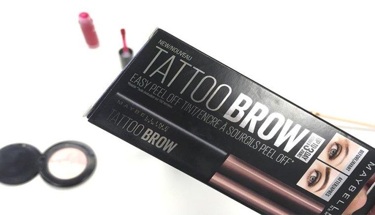 tattoo brow maybelline tatuaje de cejas tinte de cejas maquillaje de cejas maquillaje maybelline 2