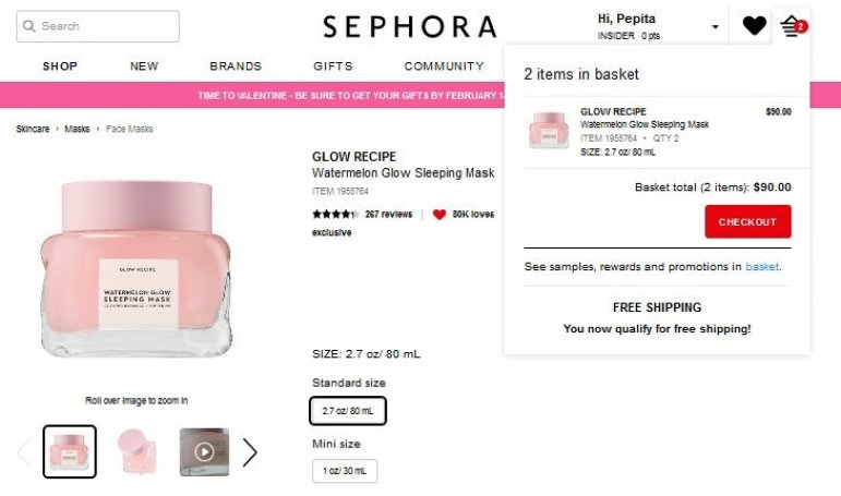 Beauty Insider sephora usa como comprar en sephora estados unidos desde españa mymall box sephora flash ir al carrito sephora2