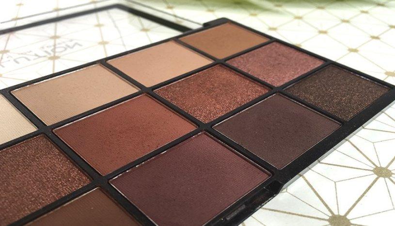 iconic reloaded makeup revolution paleta de sombras eyeshadow clon naked heat urban decay 2