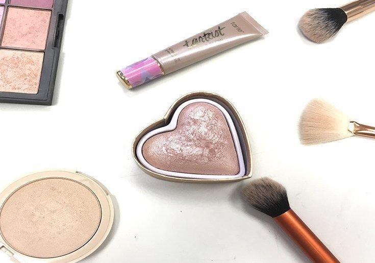 top 5 iluminadores para verano shimmering skin perfector opal becca tarte pro glow glowcomotion w7 hot sand nars goddess of love i heart makeup