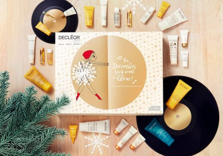 calendario de adviento 2018 beauty advent calendar calendario adviento 2018 spoilers decleor