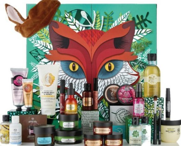 calendario de adviento the body shop 2018 calendario de adviento 2018 advent calendar beauty calendario adviento 2018 spoilers 2 3