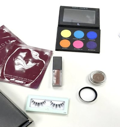 boxycharm agosto 2018 house of lashes laura lee party animal smashbox bang beauty wander beauty 2