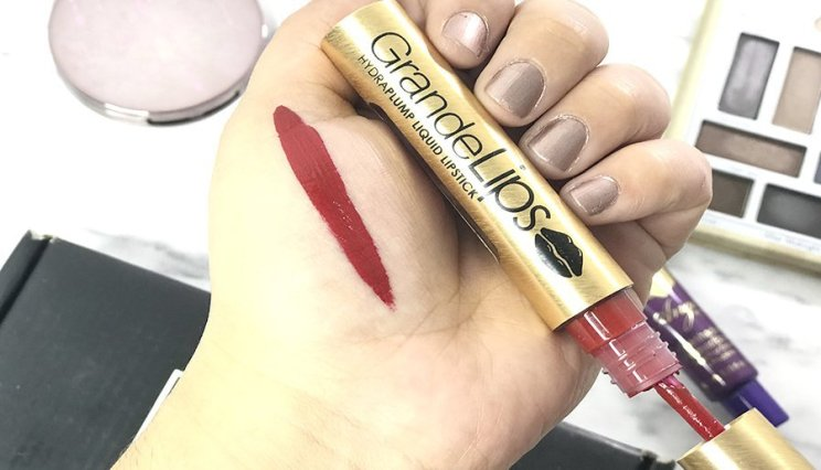 Boxycharm septiembre 2018 review girlactik luscious alamar cosmetics pretty vulgar grande cosmetics 6