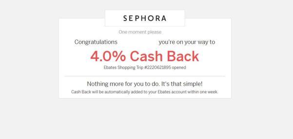 Ebates como ahorrar con ebates sephora cashback sephora cashback sephora usa ebates como funciona ebates es legit 6