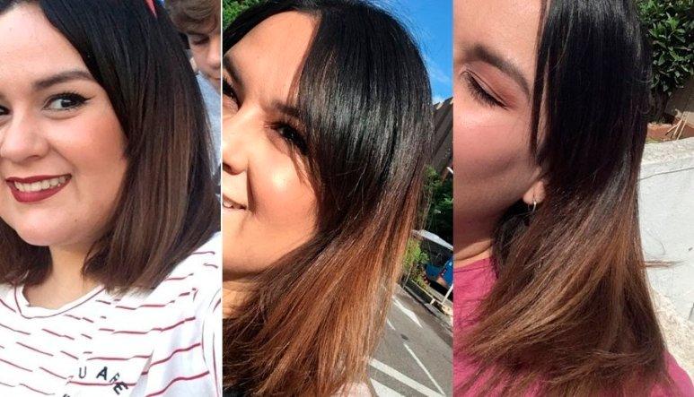 pelo quemado decoloracion decolorar cabello quemaron mi pelo en la peluqueria mechas californianas balayage mechas californianas en pelo castaño decoloracion cabello oscuro junio
