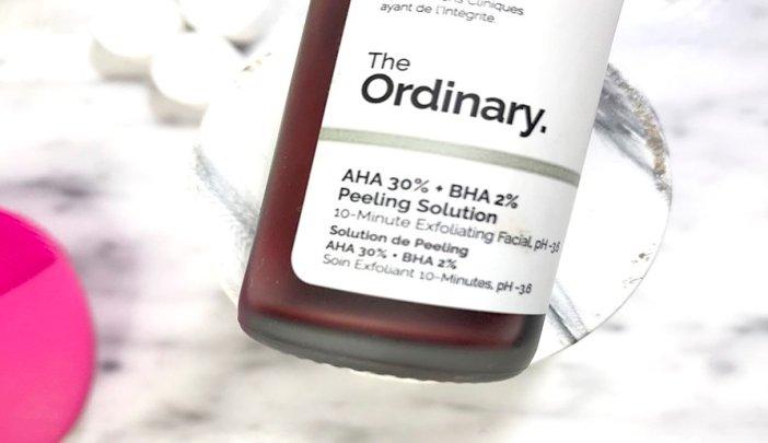 the ordinary peeeling solution aha 30 bha 2 exfoliacion quimica the ordinary como usar el peeling the ordinary aha bha 4