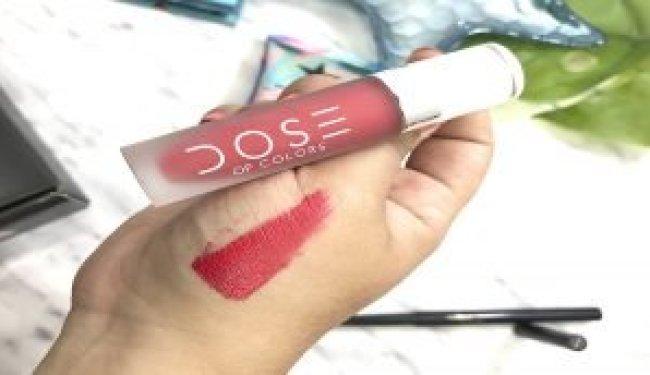 boxycharm mayo 2019 españa opinion glamglow dose of colors alamar cosmetics mellow labial rojo