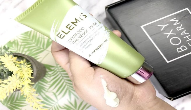 elemis superfood mask boxycharm