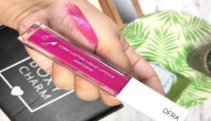 long lasting lipstick ofra santorini