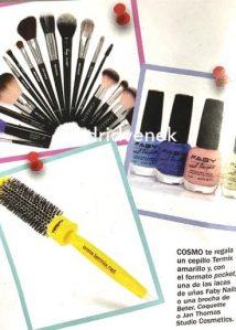regalo de la revista cosmopolitan brochas better regalos revistas septiembre 2020