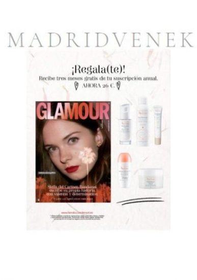 regalo revista glamour 2020 suscripcion avene