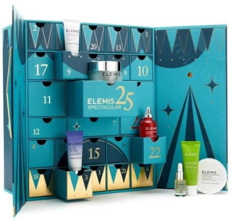elemis calendario de adviento de belleza 2020 beauty advent calendar madridvenek 2