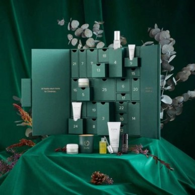 calendario de adviento ESPA 2020 beauty advent calendar ESPA madridvenek