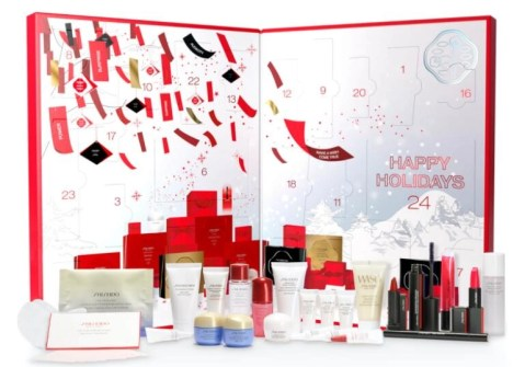 calendario de adviento shiseido 2020 beauty advent calendar shiseido madridvenek