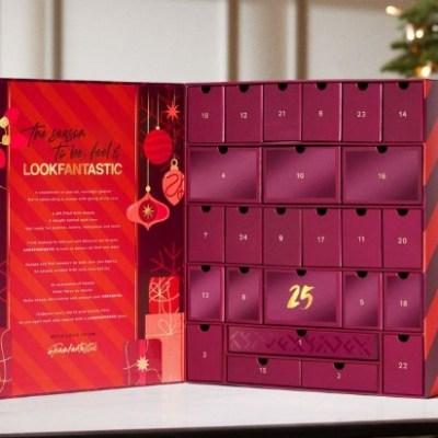 calendario de adviento de belleza 2021 calendario de adviento lookfantastic 2021 comprar calendario de adviento maquillaje 2021