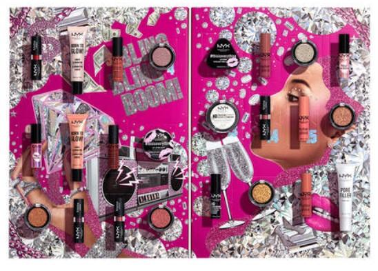 calendario de adviento maquillaje nyx 24 dias 2020 en 2021 calendarios de adviento maquillaje outlet