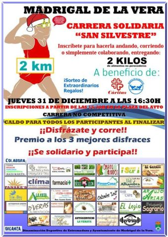 San Silvestre solidaria 2015