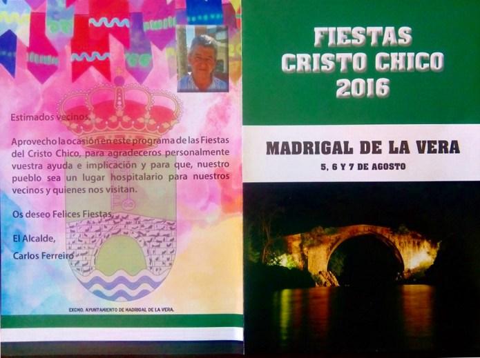 Programa Cristos Chicos 2016 (1/2)