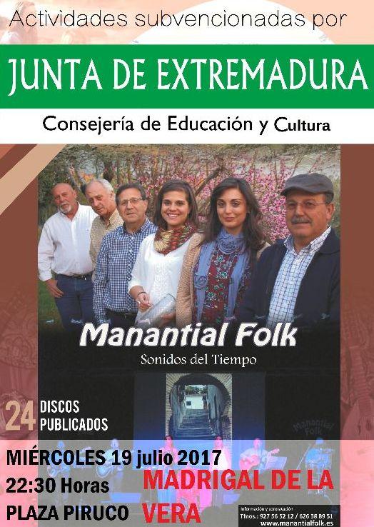 Manantial Folk - 19-07-2017