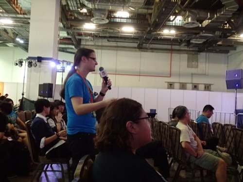 STGCC 2015 - Kat asking a question