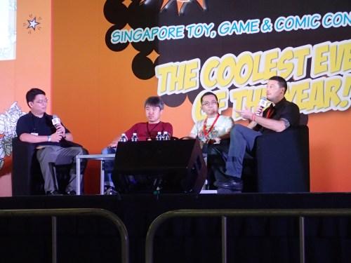 STGCC 2015 - Singpore comic creators panel