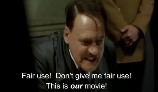 Hitler Orders A DMCA Takedown
