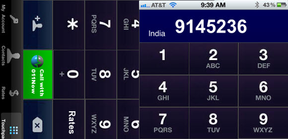 011Now iPhone and Android App Offers Cheap International Calls