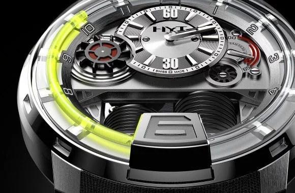 HYT H1 Titanium – A Hydraulically-powered Swiss Watch